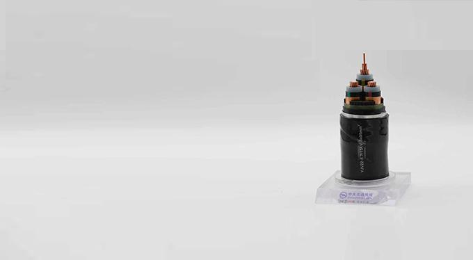 电力电缆:额定电压6kV到30kV